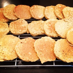 Big Batch Pancakes with Almond Flour and Coconut