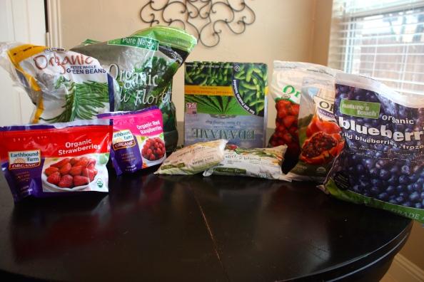 Freezer Fruit and Veggies